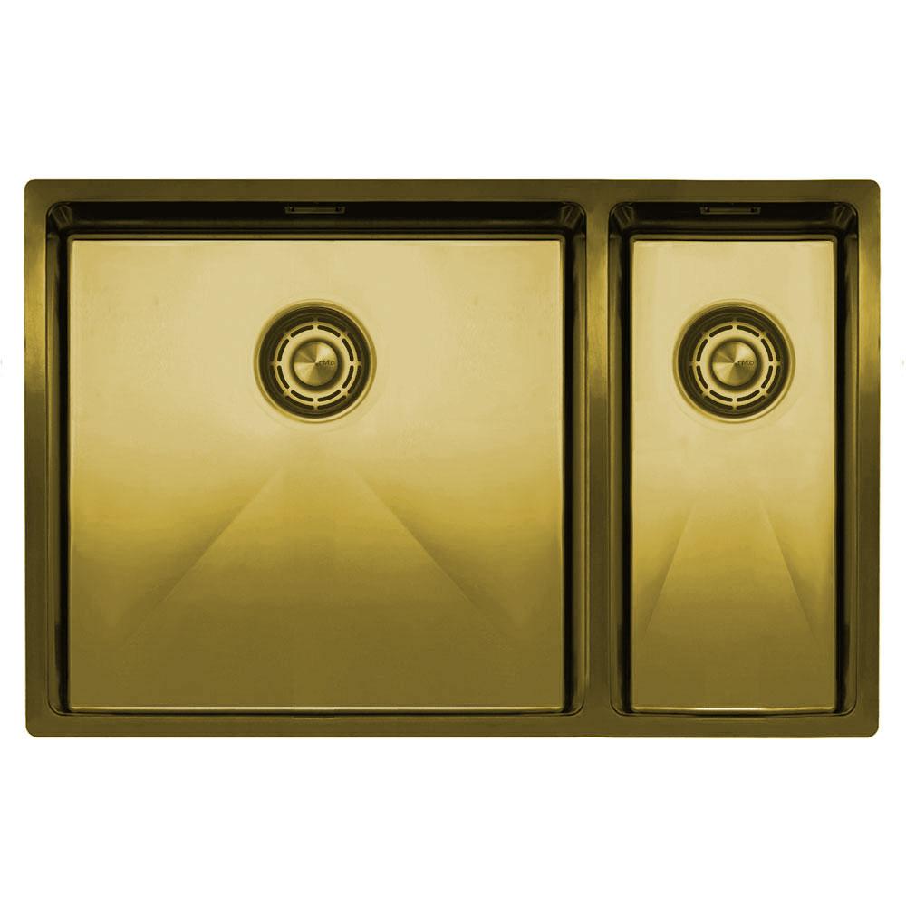 פליז/זהב מטבח אַגָן - Nivito CU-500-180-BB