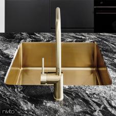 פליז/זהב כיור מטבח - Nivito 1-CU-500-BB