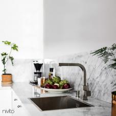 פלדת אל חלד ברז מטבח - Nivito 1-SP-300