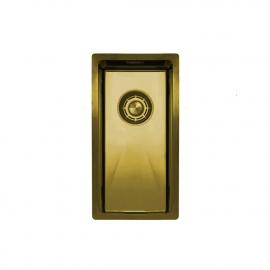 פליז/זהב כיור מטבח - Nivito CU-180-BB