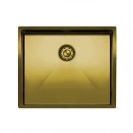 פליז/זהב כיור מטבח - Nivito CU-500-BB