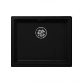 שחור מטבח אַגָן - Nivito CU-500-GR-BL