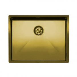 פליז/זהב מטבח אַגָן - Nivito CU-550-BB