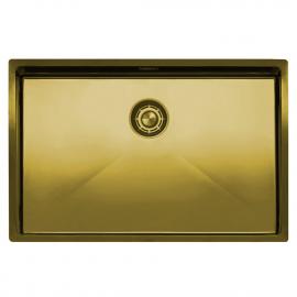 פליז/זהב כיור מטבח - Nivito CU-700-BB