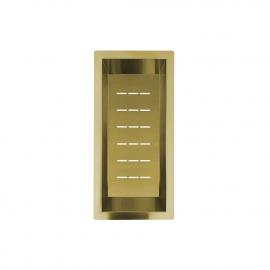 פליז/זהב קערת מסננת - Nivito CU-WB-200-BB
