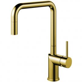 פליז/זהב ברז מטבח צינור נשלף - Nivito RH-340-EX