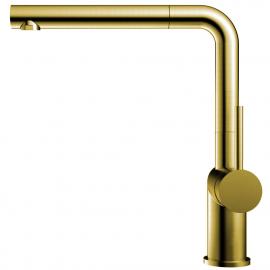 פליז/זהב ברז מטבח צינור נשלף - Nivito RH-640-EX